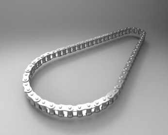 Drive Chain with Links